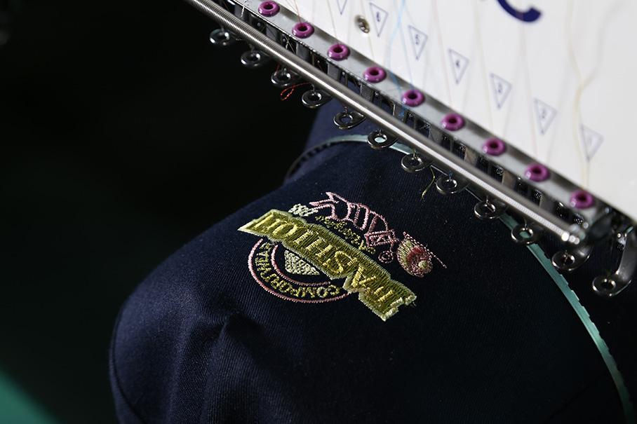 Richpeace Computerized Multi-heads Cap/Tubular  Embroidery Machine