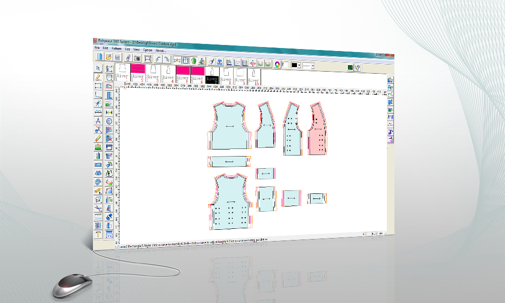 Richpeace Garment Cad V8 0 Free Version English Garment Cad Cad Software Tianjin Richpeace Ai Co Limited