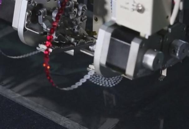 computerized sequin motif machine