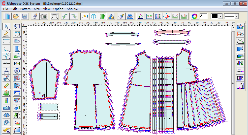 Richpeace Cad V9 Trial Version Garment Cad Cad Software Tianjin Richpeace Ai Co Limited