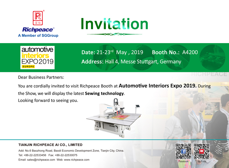 Automotive Insteriors Expo 2019
