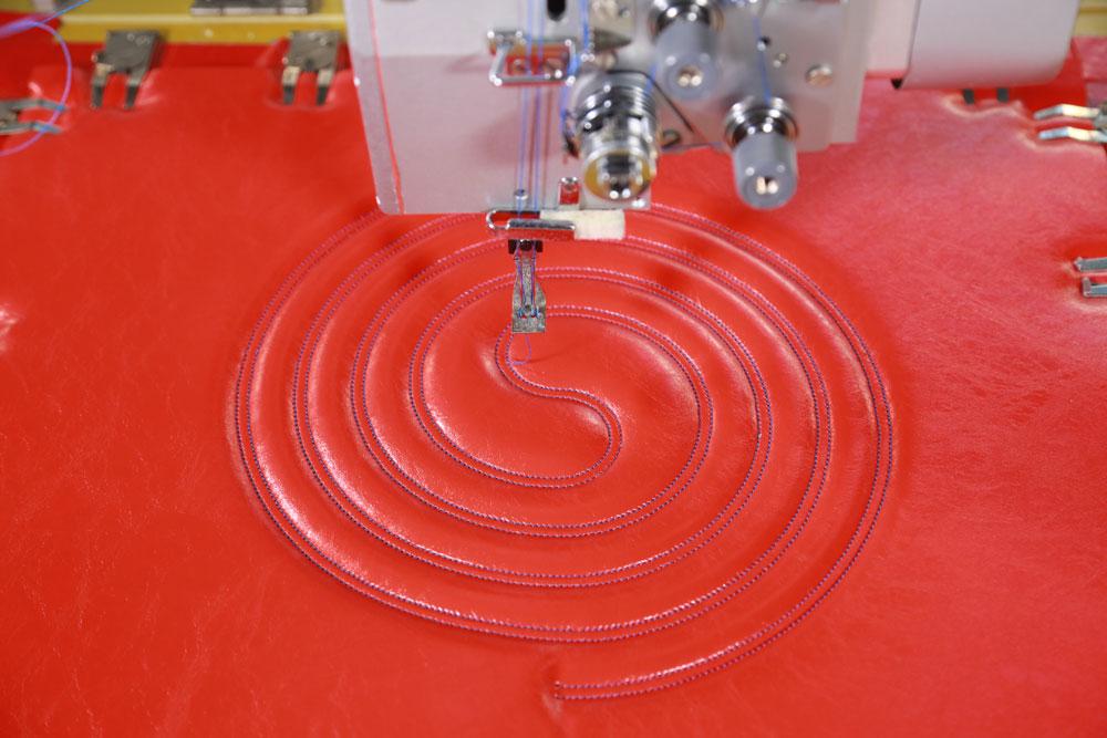 Richpeace Automatic Double-needle Universal Rotating Sewing Machine