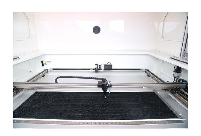 Richpeace Laser Cutting Machine for Automotive Sun-blinds