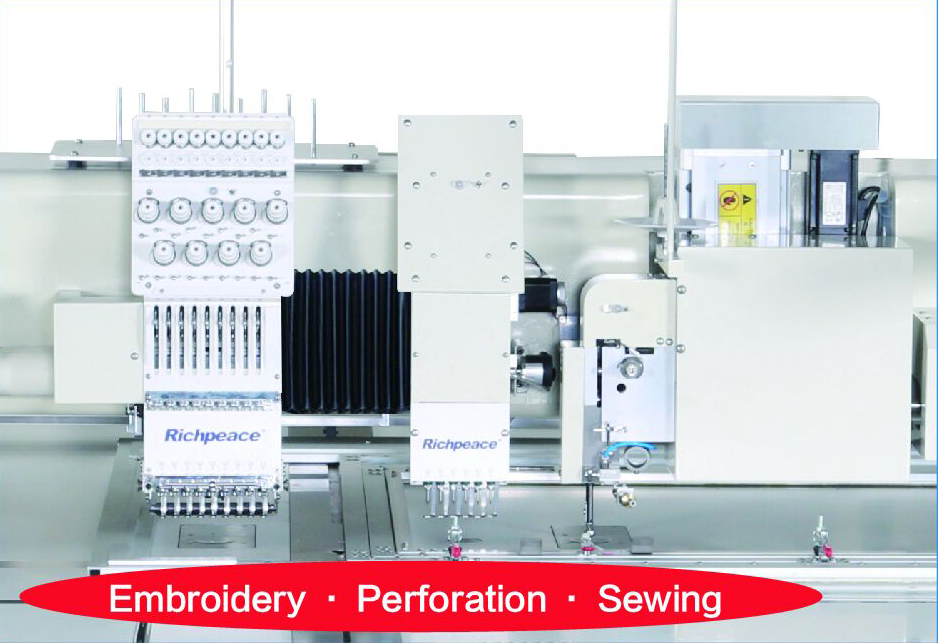 Computerized-Perforation-Sewing-Embroidery-Machine
