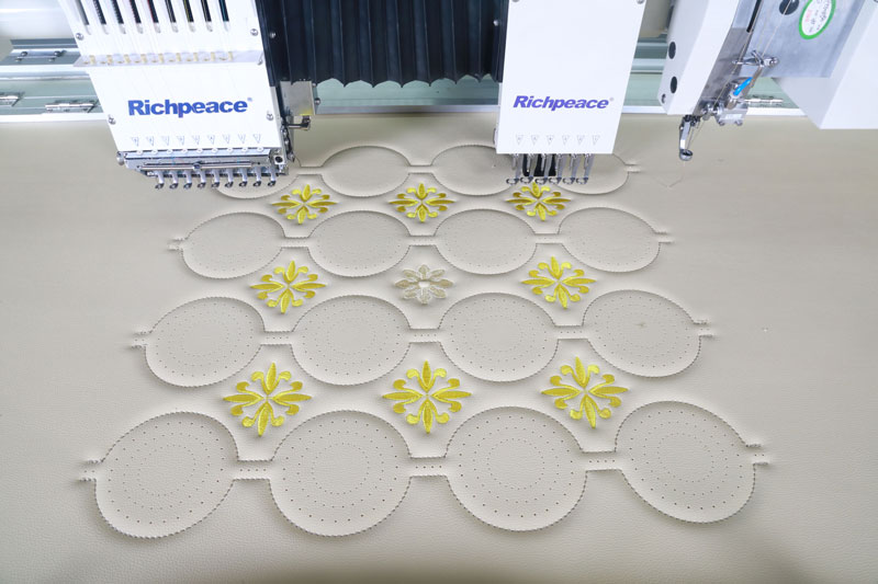 Richpeace Computerized Perforation,Sewing and Embroidery Machine