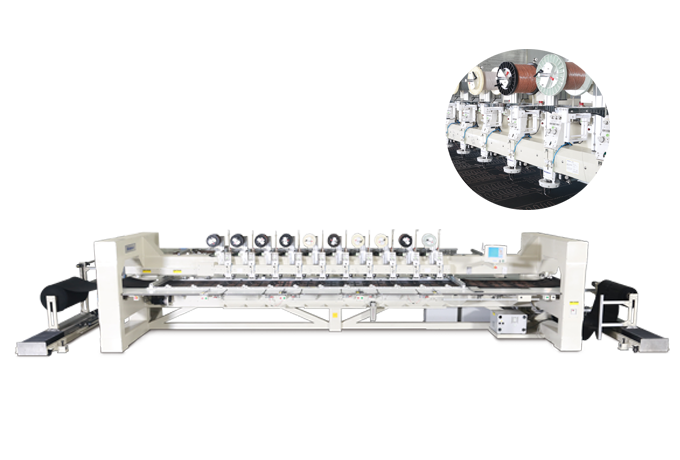 Richpeace Wire Stitching Machine Special for Automotive-Left-Right Feeding Structure
