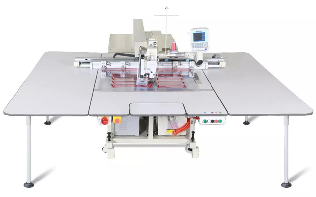automatic sewing(+laser) machine