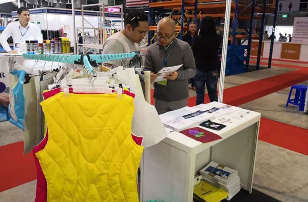 Richpeace unveiled at 2018 Myanmar International Textile and Garment