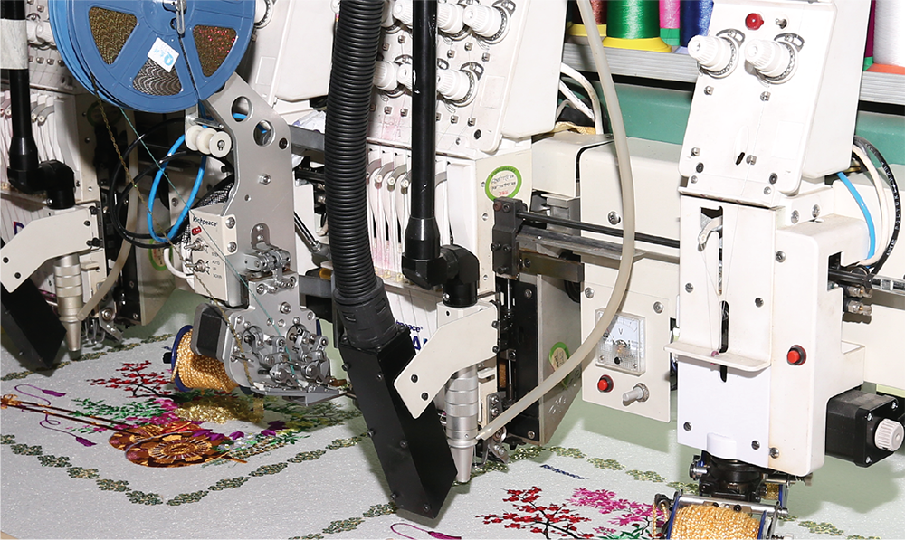 Richpeace Computerized Mixed Coiling Embroidery Machine Head