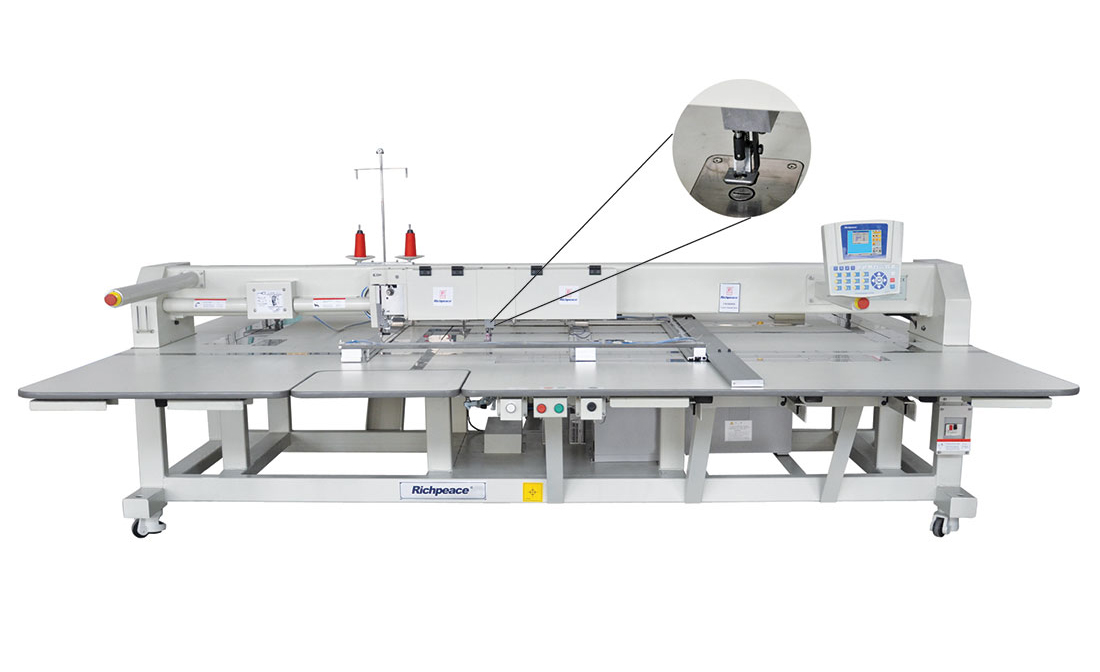 Automatic sewing machine with cutting function