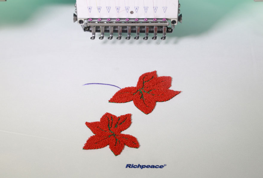 Richpeace Computerized Mixed Chenille Embroidery Sample