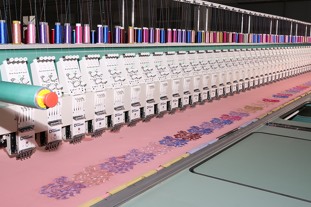 Richpeace Computerized Lace Embroidery Machine