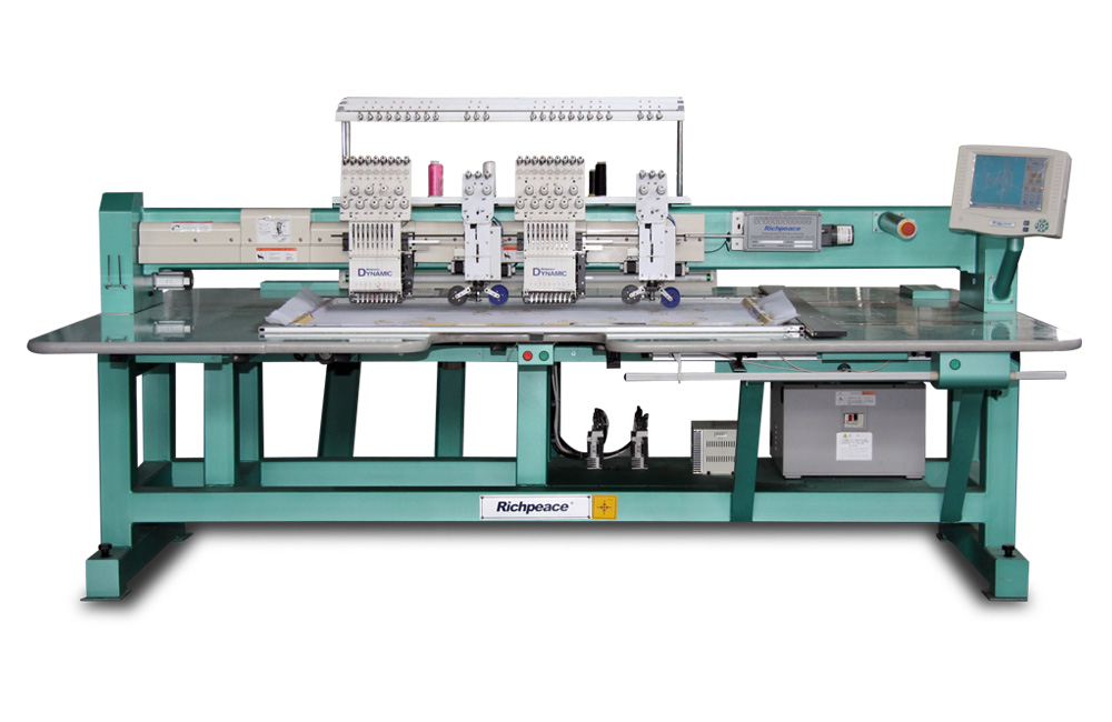 Richpeace Computerized Mixed Coiling Embroidery MachineModel: RPCE-CL-2·9