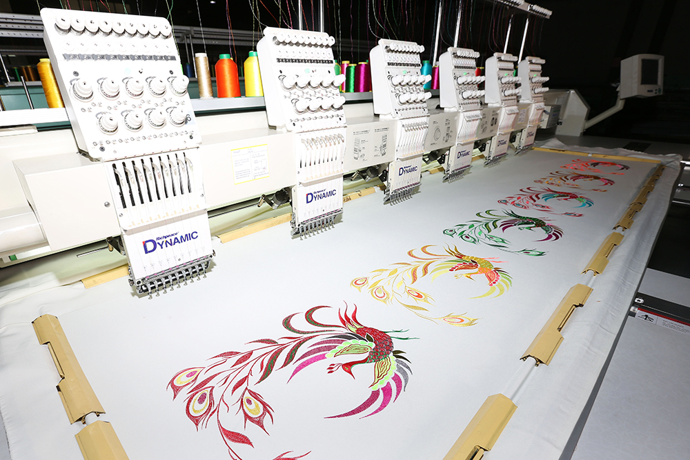 Embroidery Standard Model: RPCE-FN-6·9-275(550+40)X680-B