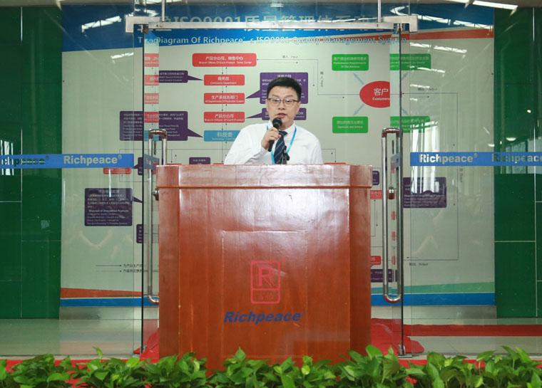 Tianjin Richpeace CEO