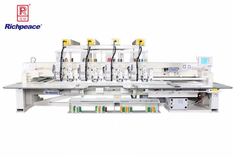 Richpeace Computerized Mixed Coiling & Chenille Embroidery Machine (Five-in-one Embroidery Machine)