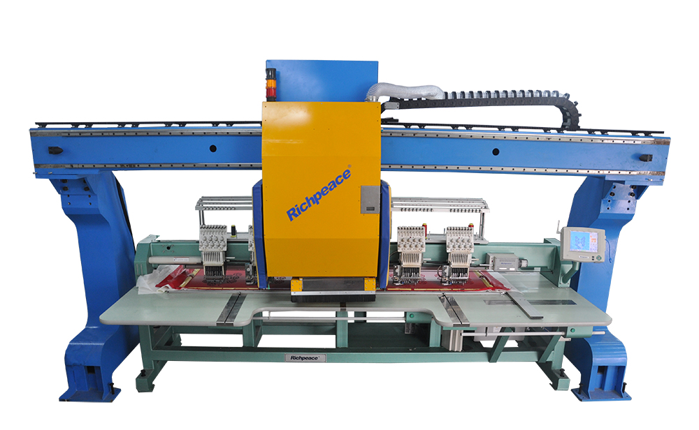 Richpeace GMI III Laser Bridge System for Embroidery Machines