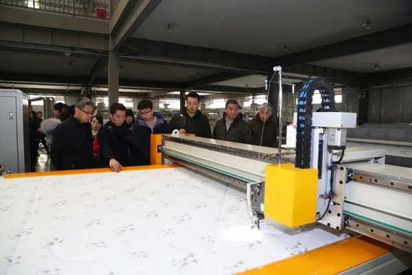 visit Quilting machine workshop