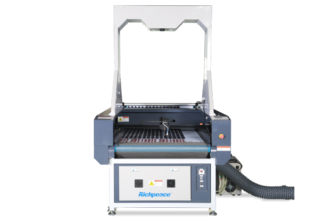 Richpeace Laser Cutting Machine with Big Camera-oriented System