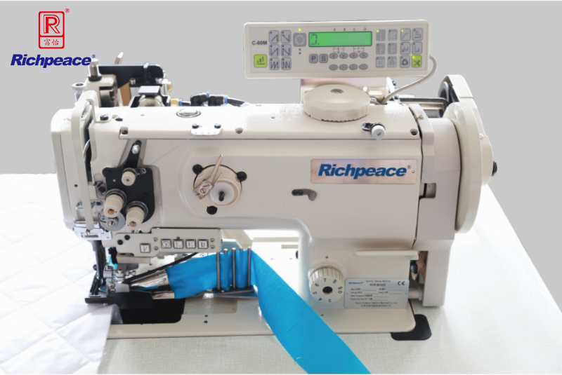 Richpeace Quilts Binding Machine (With Puller Wheel Device)
