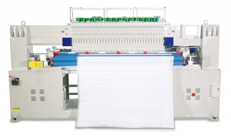 Richpeace Dual Needle Row Quilting & Embroidery Machine