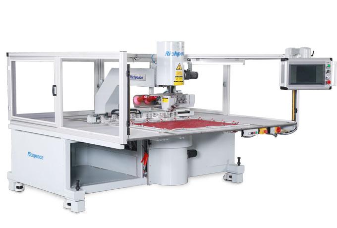 Richpeace Double Needle Universal Rotating Sewing Machine
