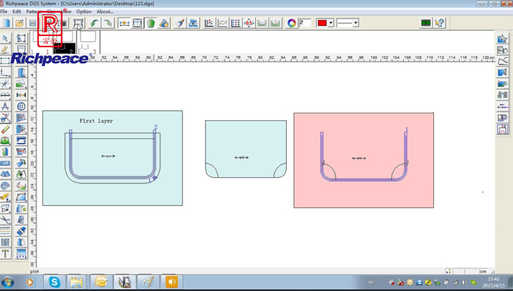 Richpeace AutoSew CAD System Free Version Free