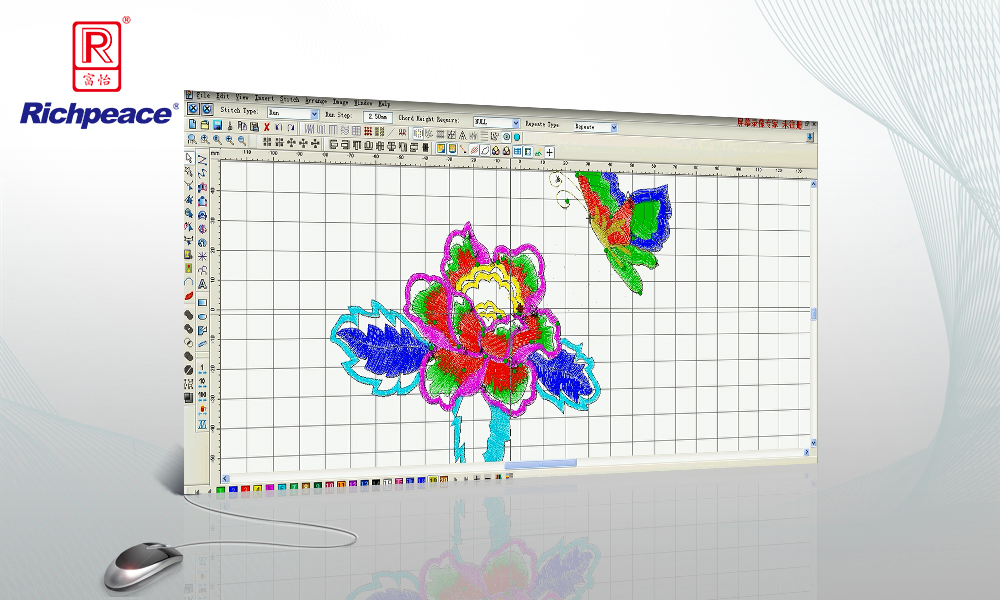 Richpeace Welcome Embroidery CAD V6.0 Commercial
