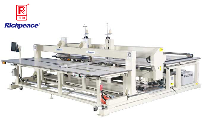 Richpeace Automatic Large Area Bar Tacking Machine (Two Heads)