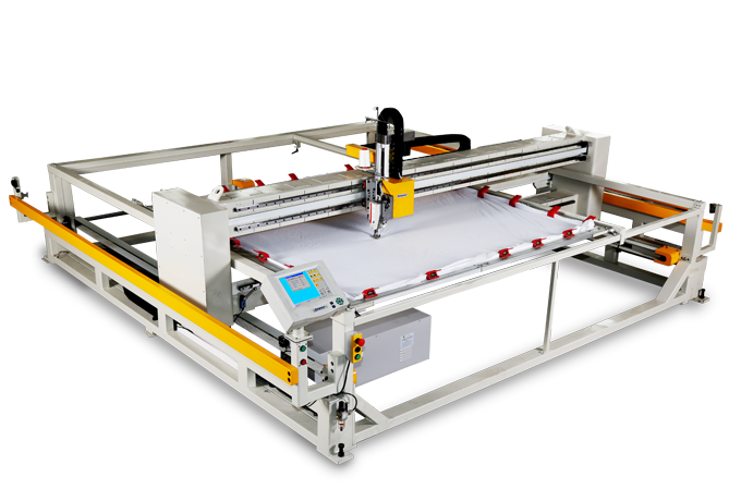 Frame computer quilting machine (lift head)