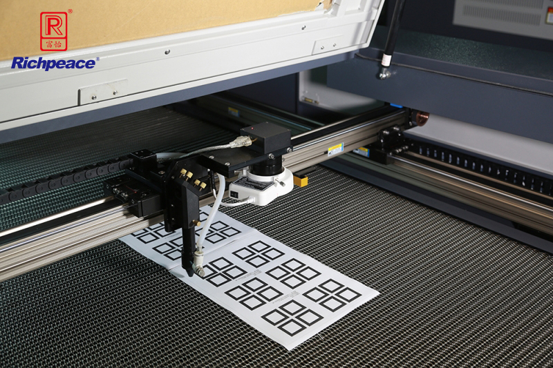 Richpeace Camera-oriented Logo Laser Cutting System