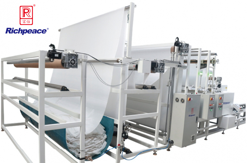 Richpeace Automatic Spreading Machine for Large Fabric Roll
