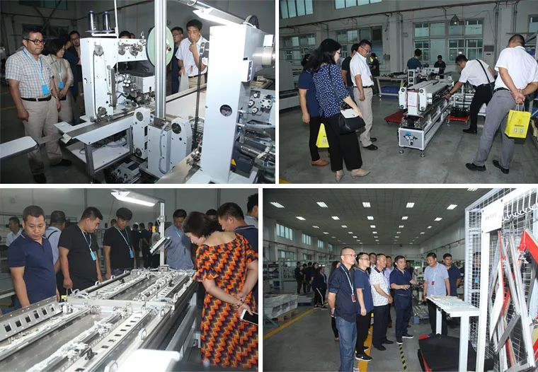 Leaders and Guests visit the factory