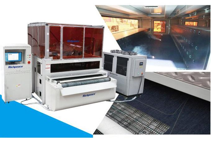 Richpeace Triple Galvanometer Laser Cutting Machine