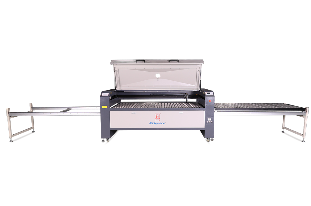 Richpeace Laser Engraving& Cutting Machine with Movable Table