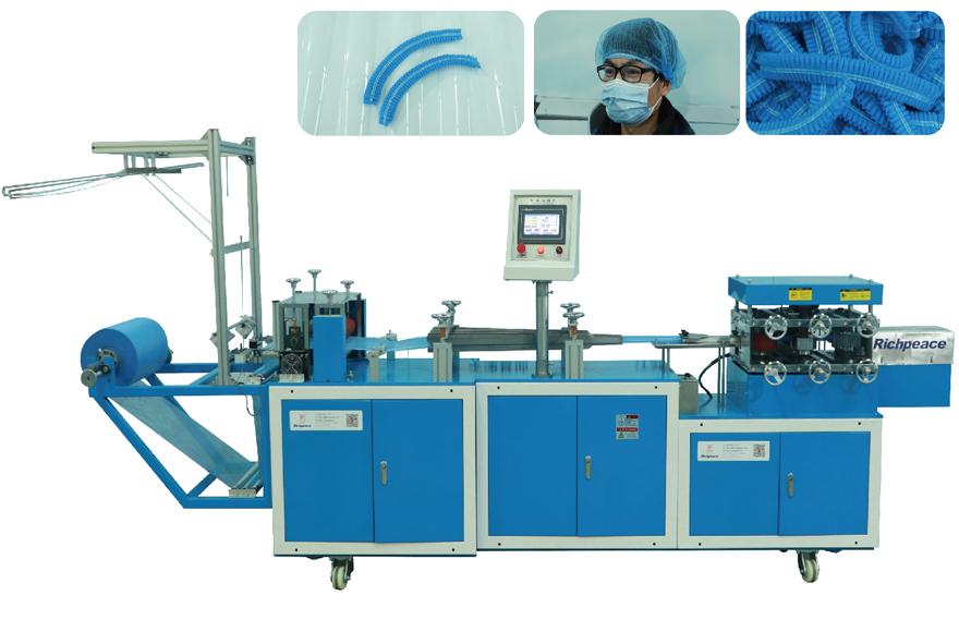 Richpeace Automatic Disposable Bouffant Cap Machine