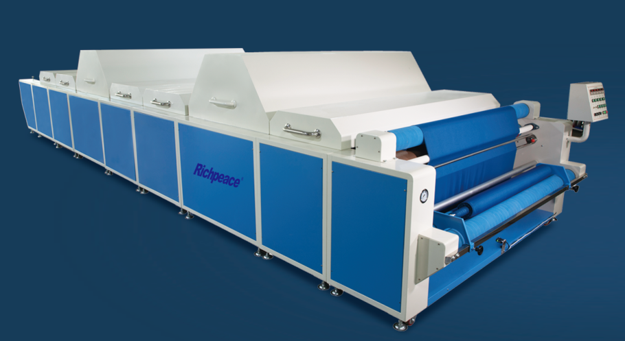 Richpeace Fabric shrinking and forming Machine