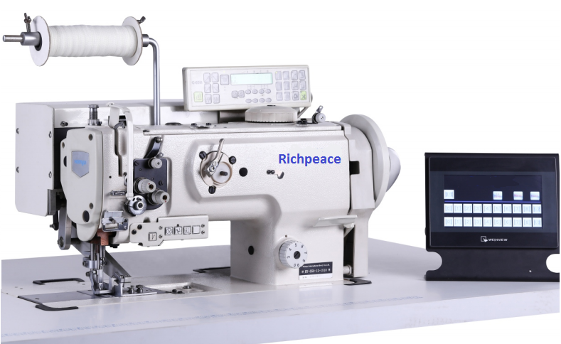 Richpeace Program control,differential,abutted seam sewing machine