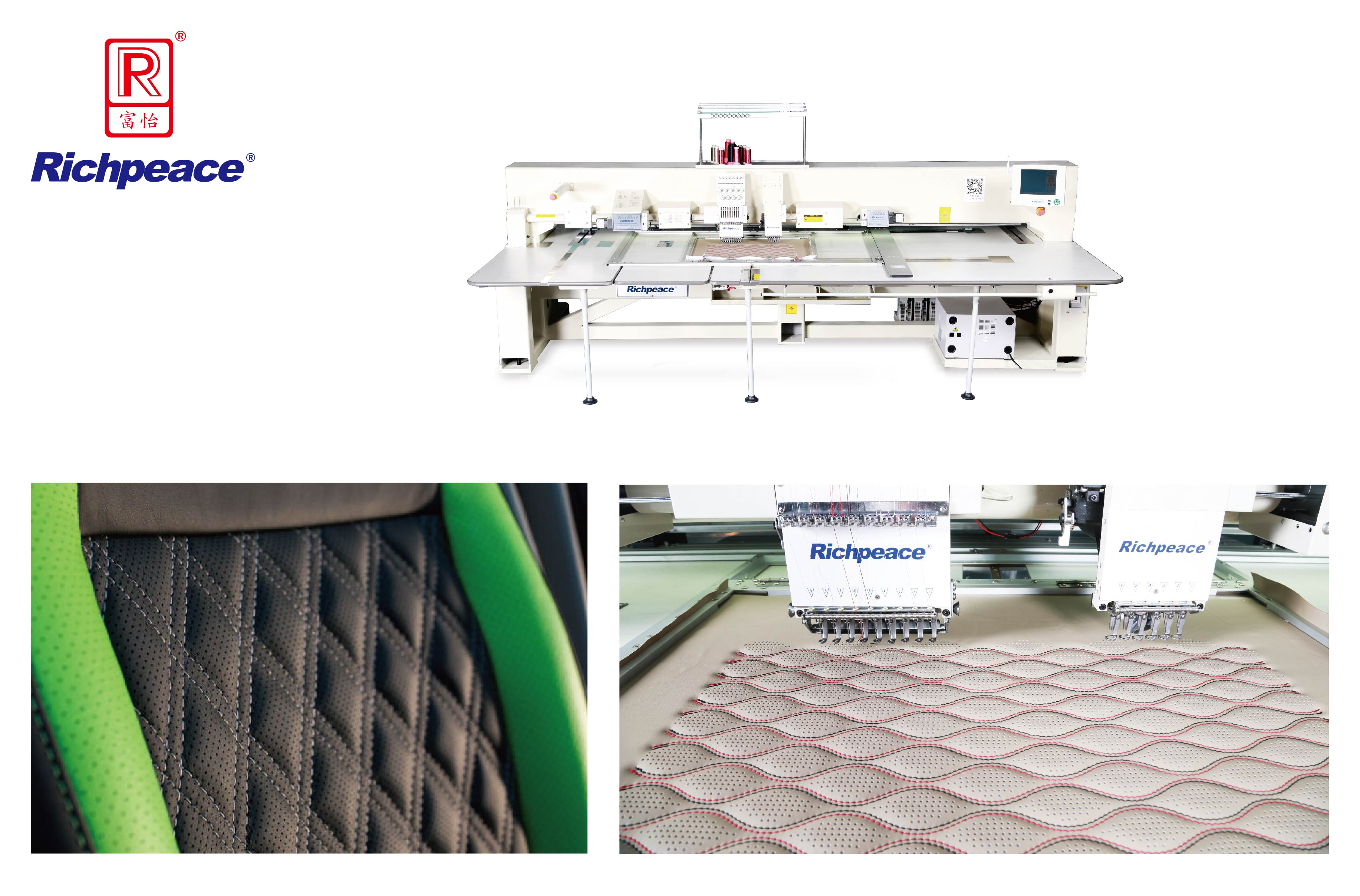 Richpeace Computerized Perforation and Embroidery Machine