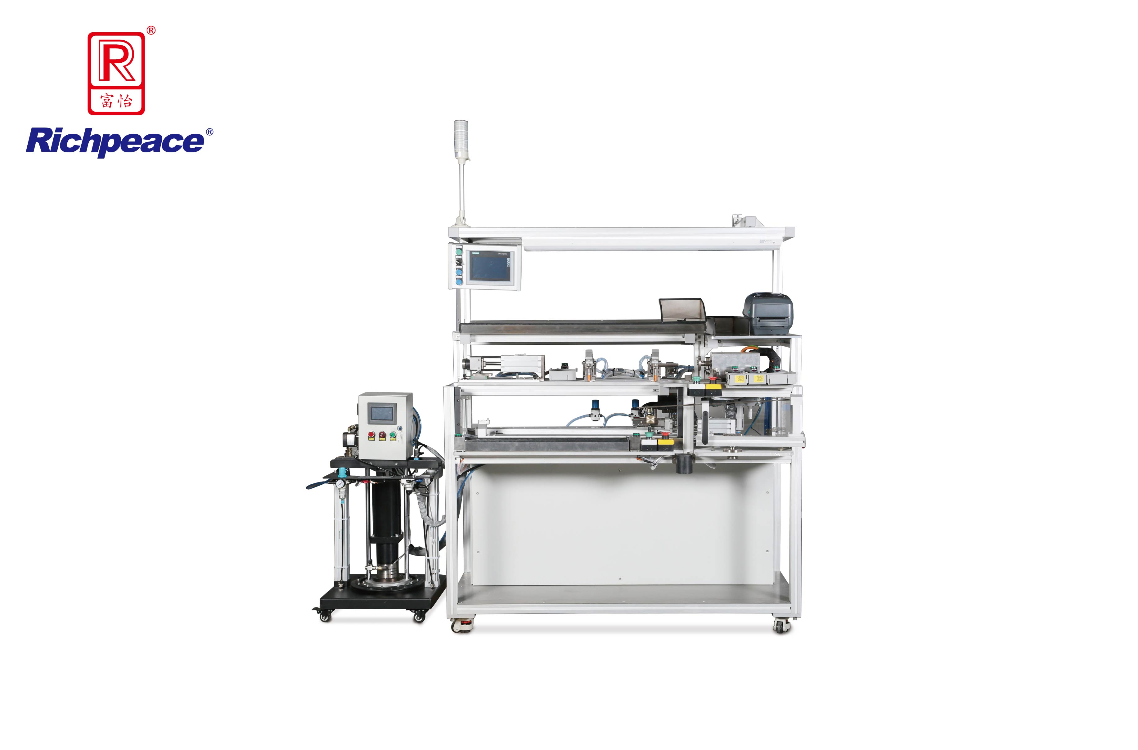 Richpeace Spring Grease and Force Preloading Machine