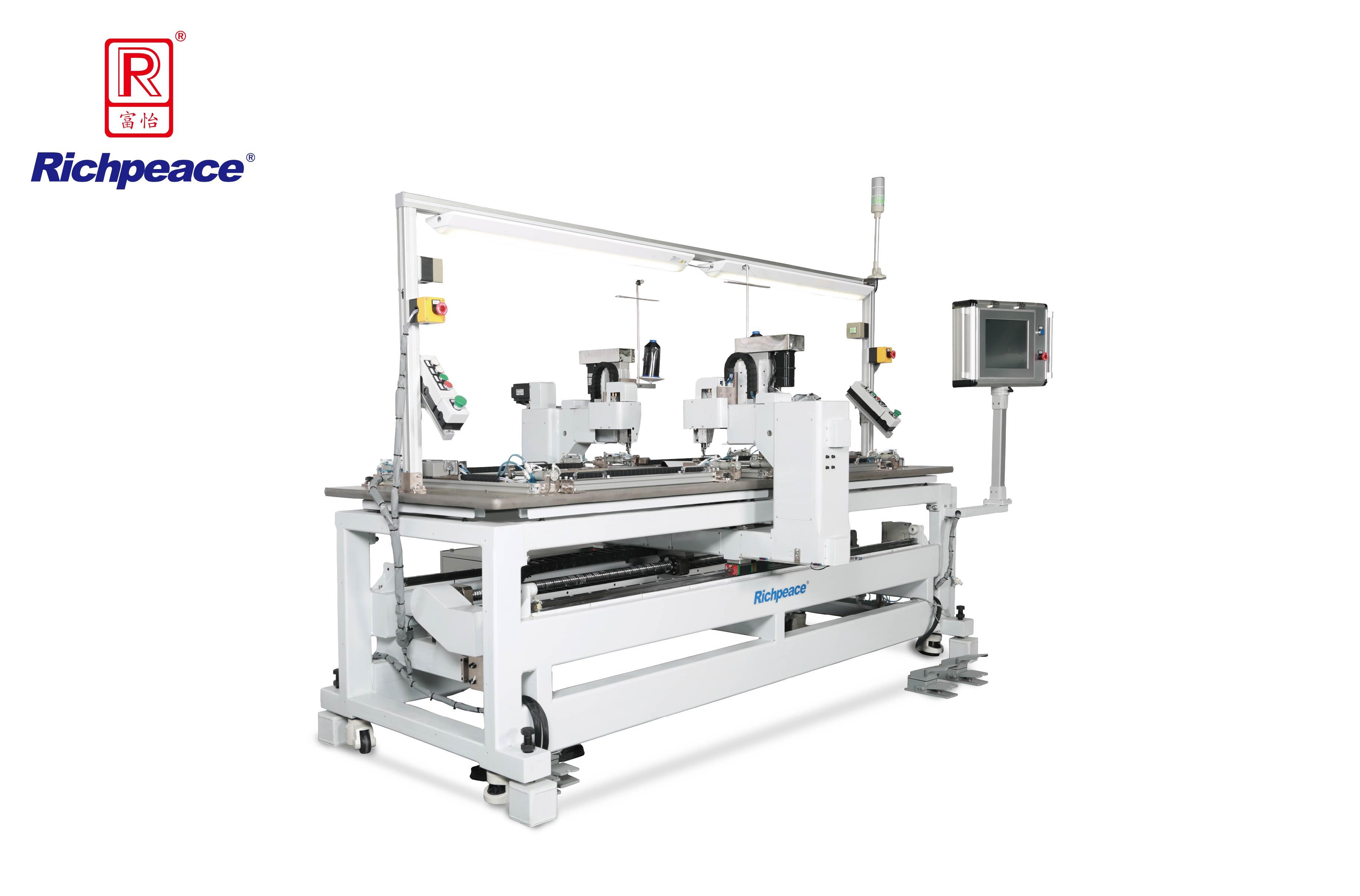 Richpeace Automatic Two-Station Sewing Machine