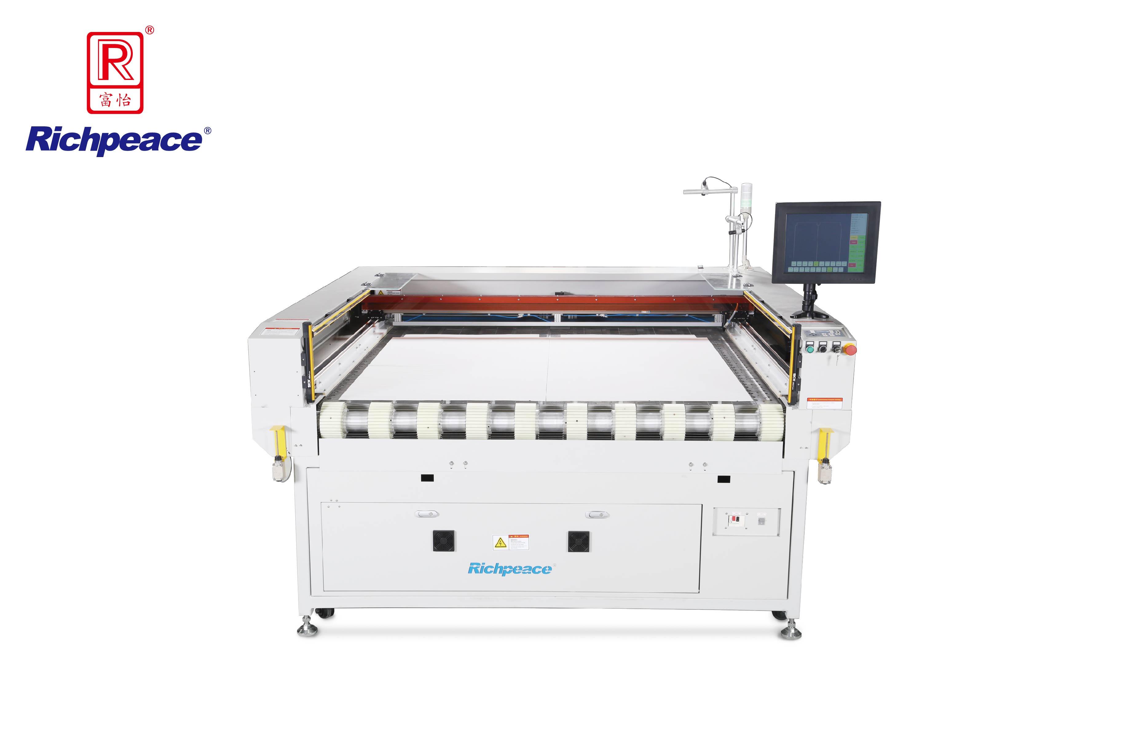 Richpeace Laser Cutting Machine on Automotive Interiors