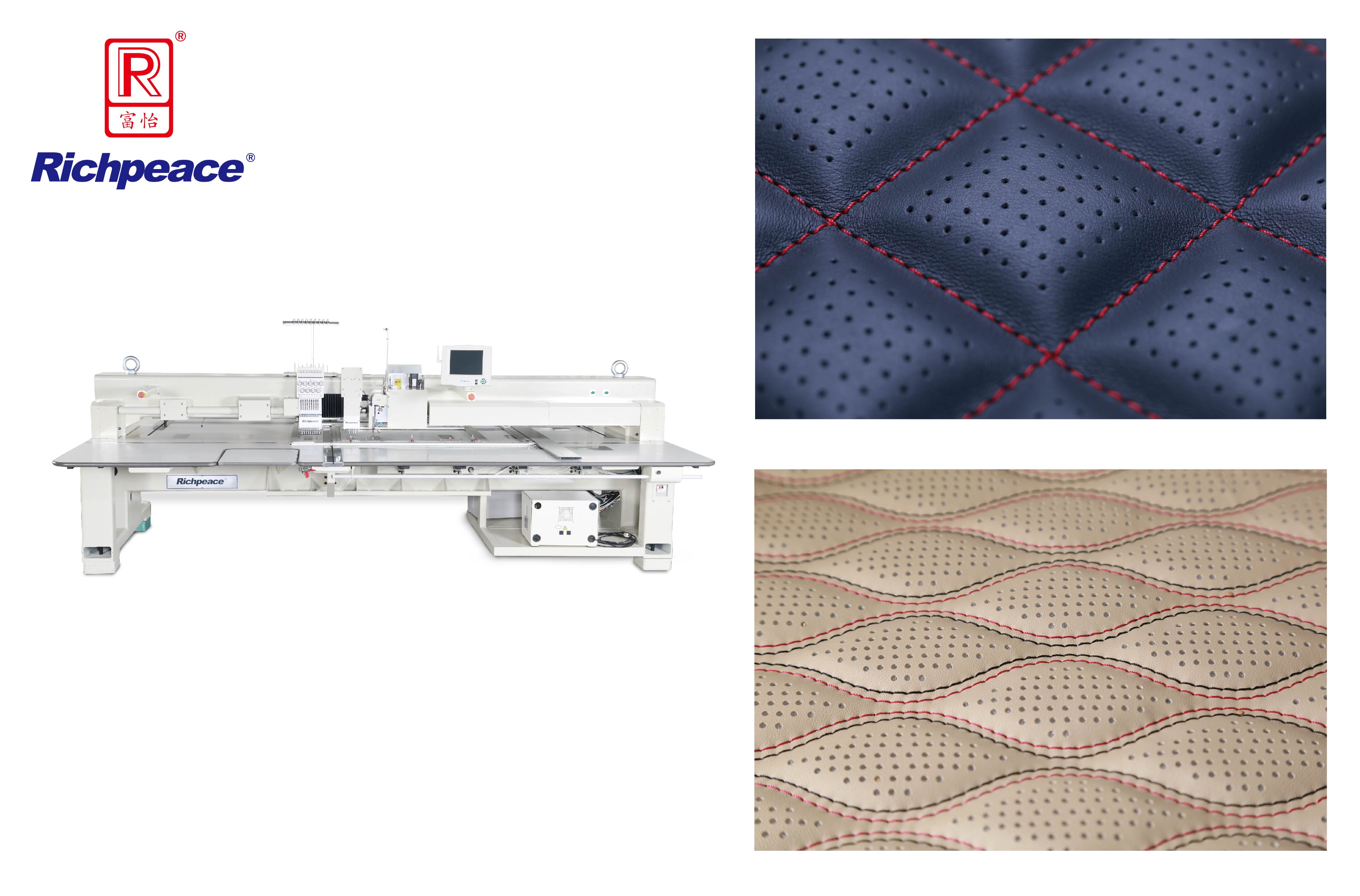 Richpeace Automatic Perforation and Embroidery Sewing machine