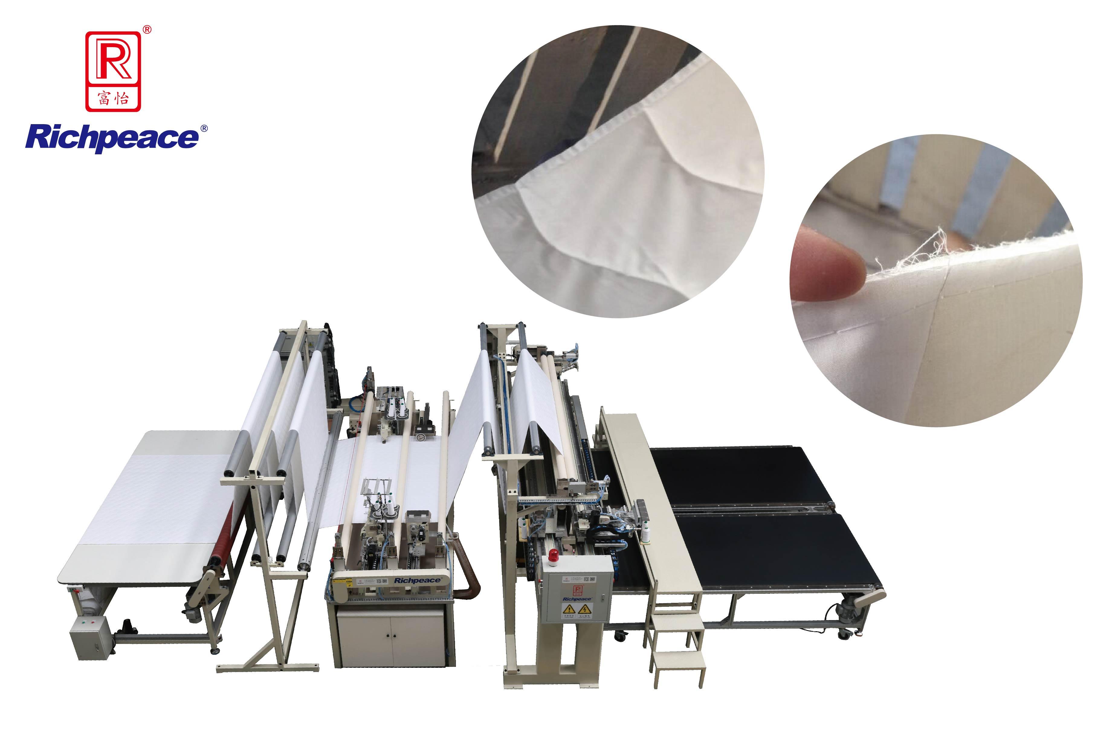 Richpeace Automatic 4-Side Seam Sewing Machine