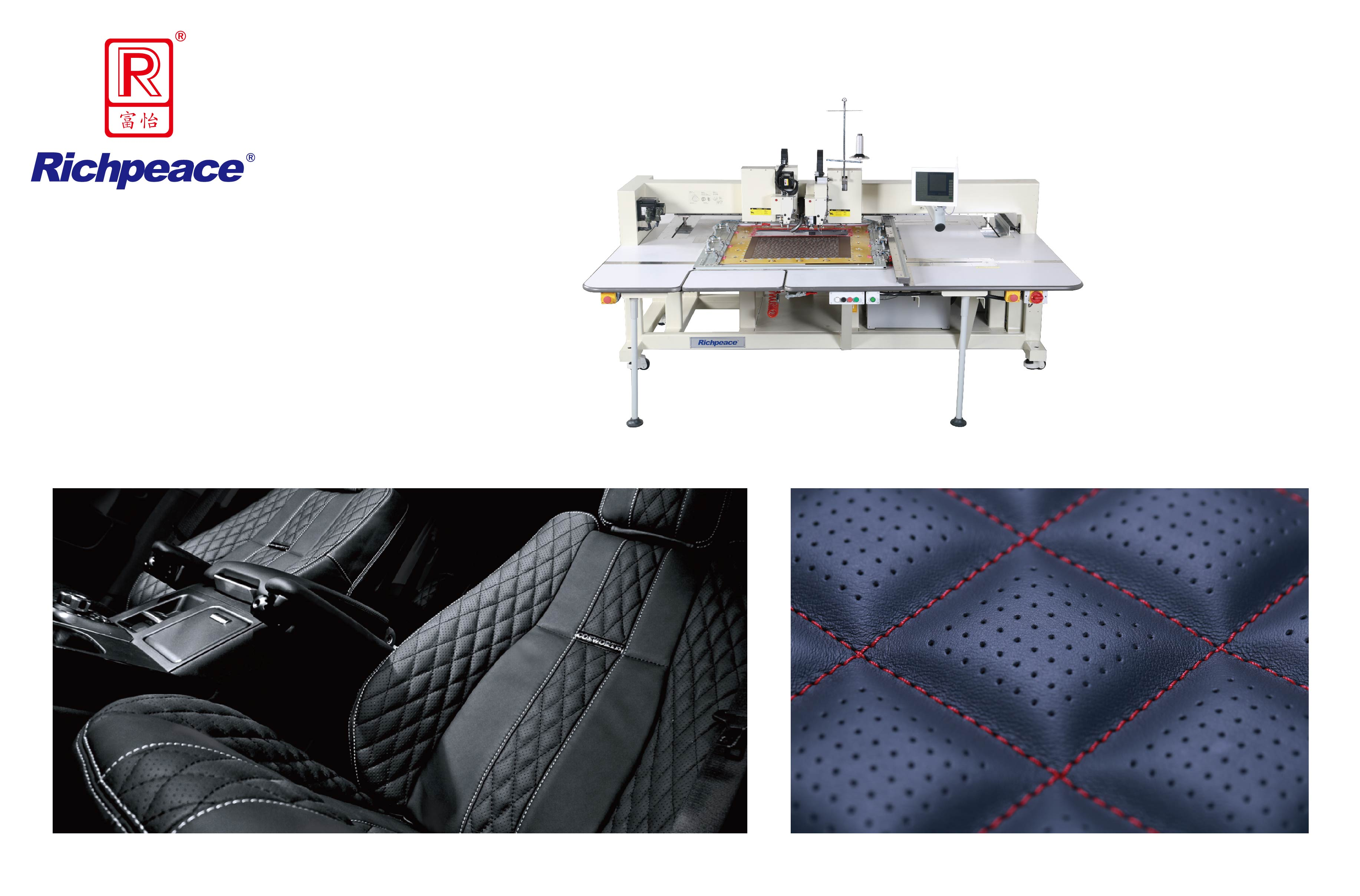 Richpeace Single color Automatic Perforation and Sewing Machine