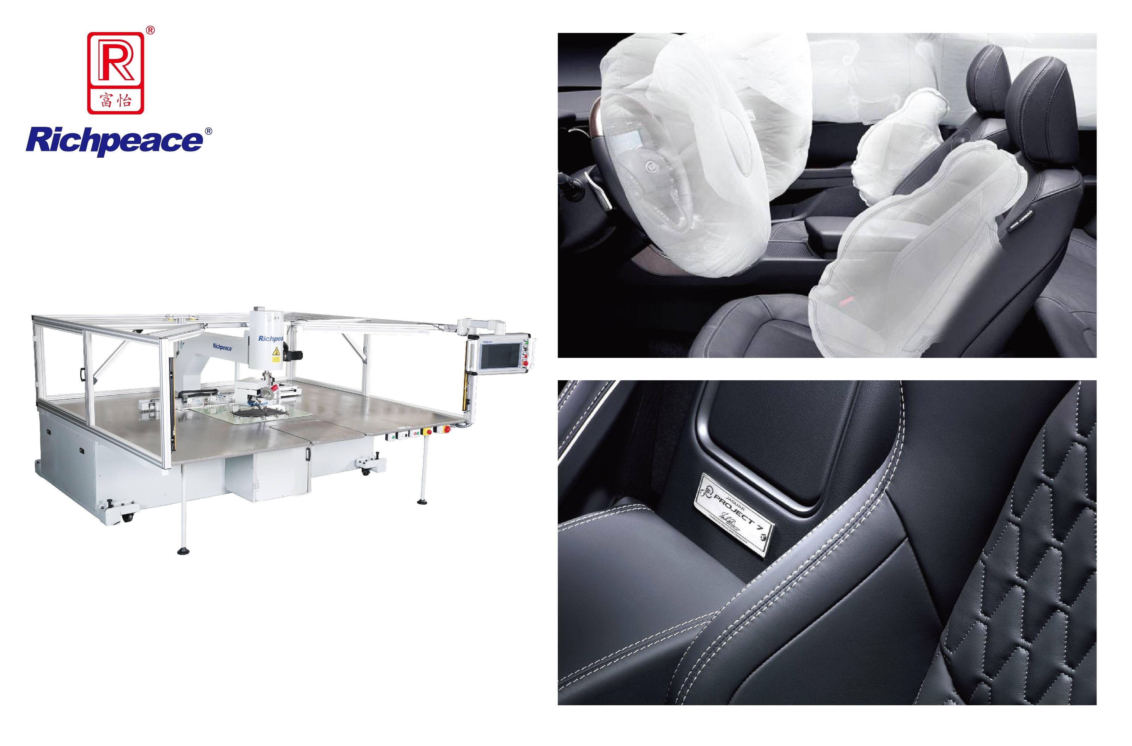 Richpeace Automatic Single Needle Universal Rotary Sewing Machine (Horizontal hook)