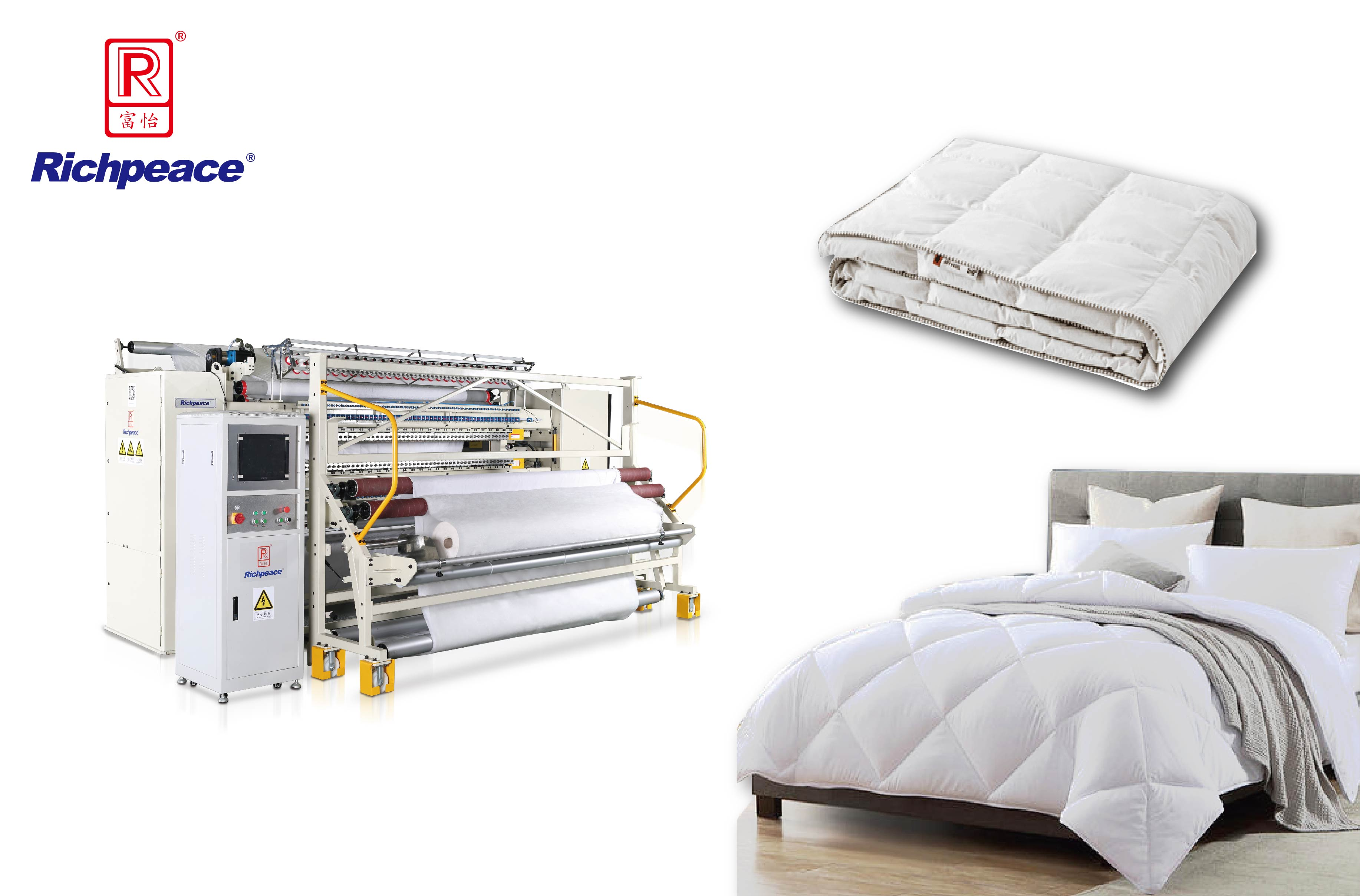 Richpeace L1500 High-speed Multi-needle Quilting Machine