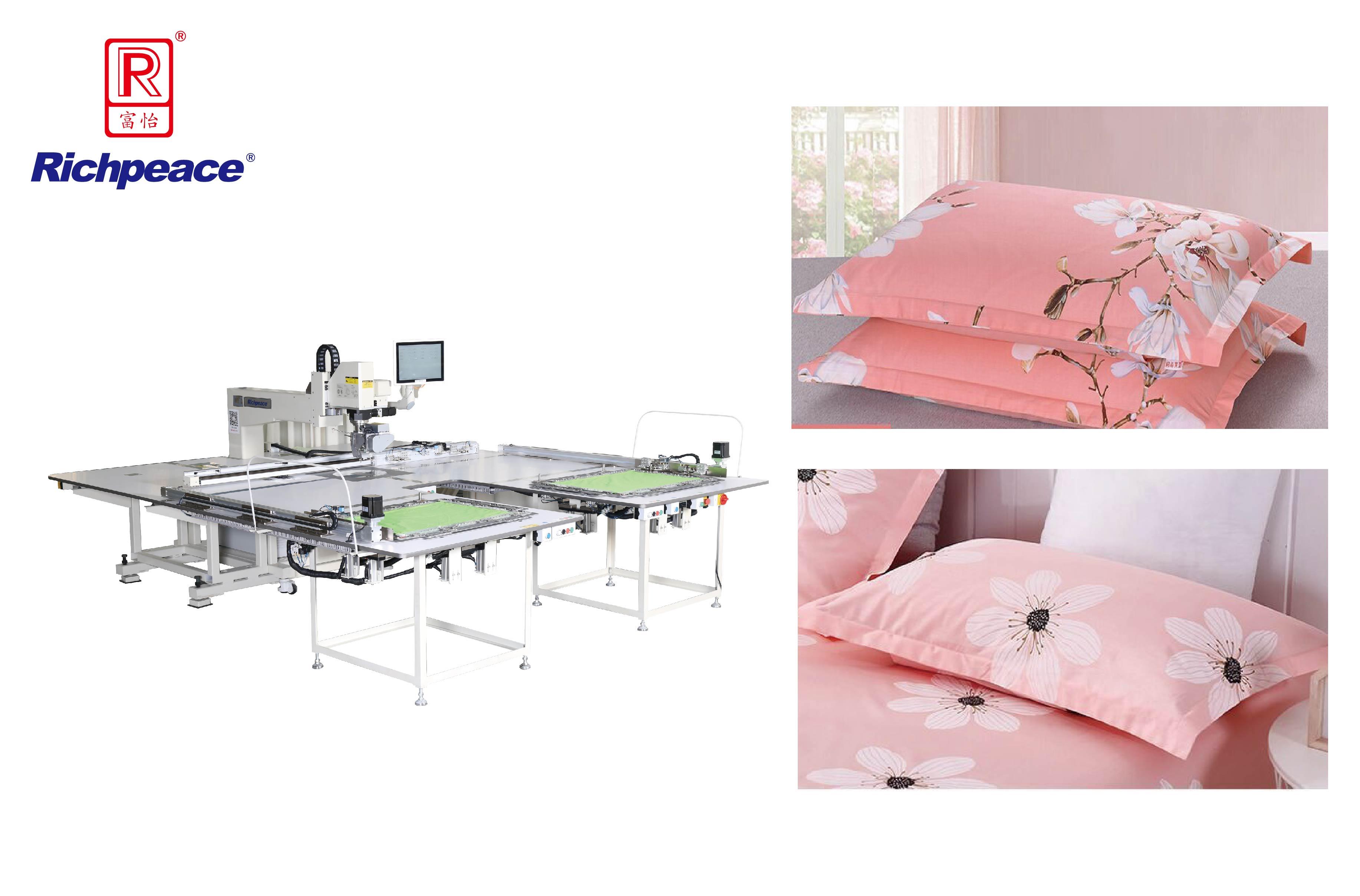 Richpeace Automatic 360° Rotary Head Single Needle  Sewing Machine (Auto Feeding)