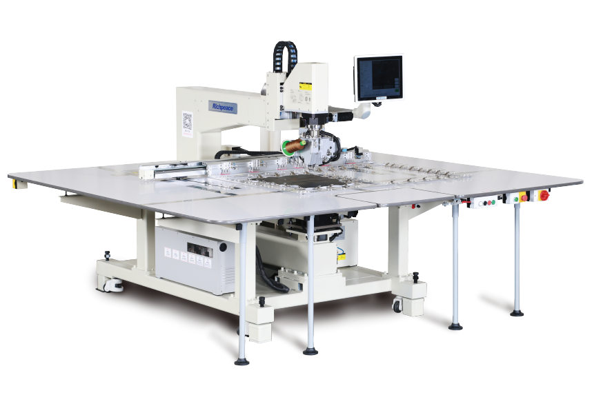 Richpeace Automatic Single Needle Universal Rotary Sewing Machine (Vertical hook)