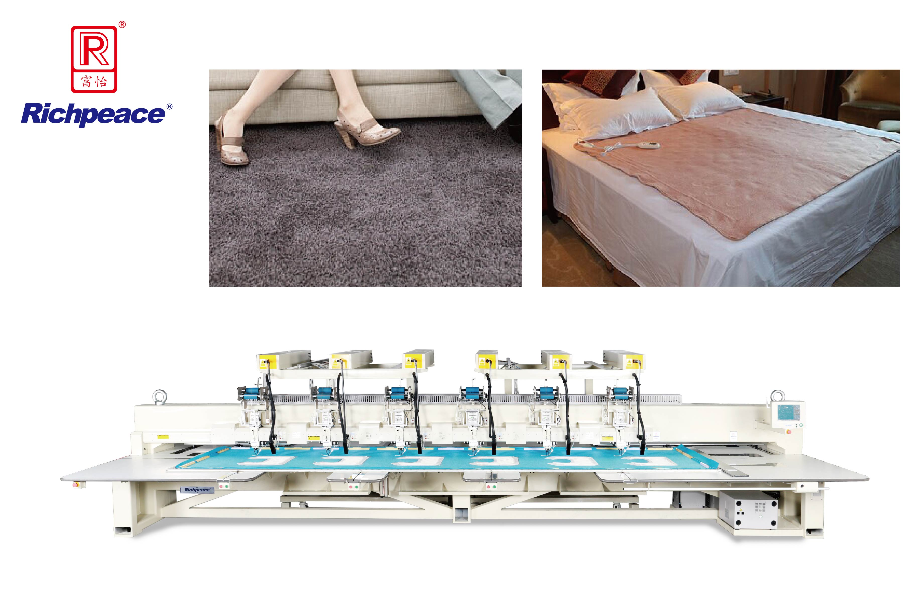 Richpeace Computerized Wiring Stitching Machine for Home Textile